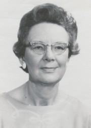 Rev. Marguerite Miller, n.d.  Marguerite Miller Fonds, UCCArchivesWpg