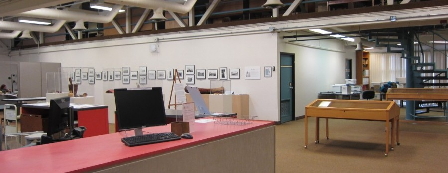 A bright and airy space, shared with the University of Winnipeg Archives, awaits researchers.  UCArchivesWpg photo
