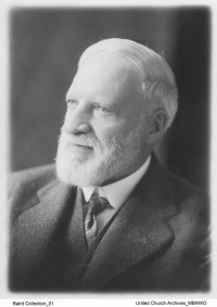 Andrew B. Baird, about 1920. UCCArchivesWpg Baird 01