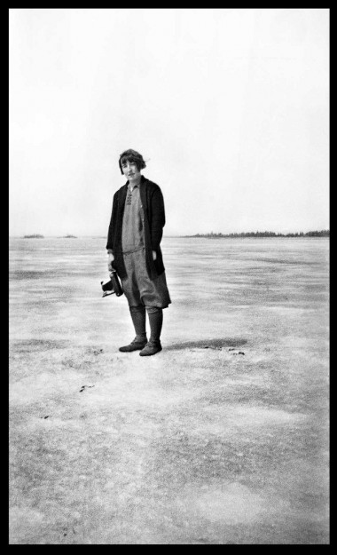 Mary Bruce, photographer and teacher taken at Norway House, Manitoba c 1929-32. (UCCArchivesWpg bruce N201)