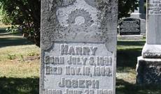 Harry Bosnell Headstone
